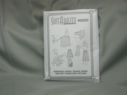 S6500: Sidesaddle apron, Driving apron, and Riding Skirt Pattern